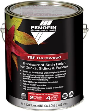 Penofin Architectural Grade Hardwood TSF can
