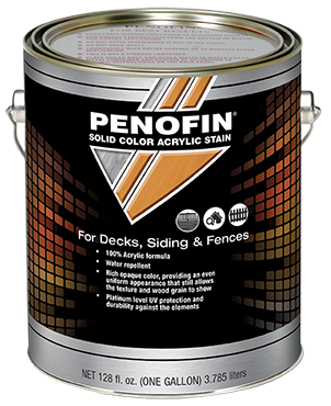 Penofin Solid Color Stain can