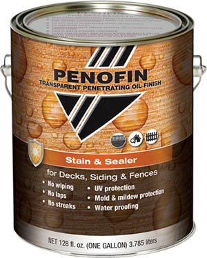 Penofin Stain and Sealer can