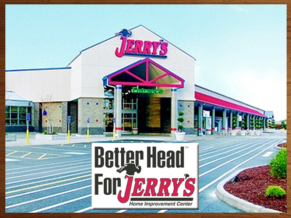 Jerry's Home Improvement Center serving the Eugene and Springfield, OR area